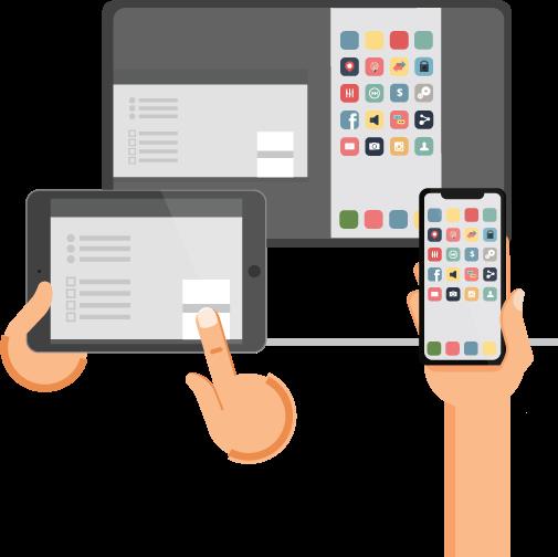 Phản chiếu màn hình iphone quaAirServer