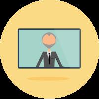 Teleconferencing icon